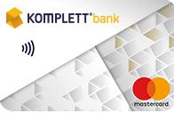 Kuva Komplett Bankin luottokortista.