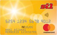 St1:n Mastercard -luottokortti